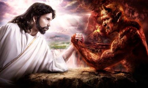 Jesus vs. Devil